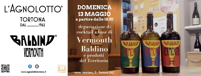 Degustazione Vermouth Baldino - L'Agnolotto Tortona