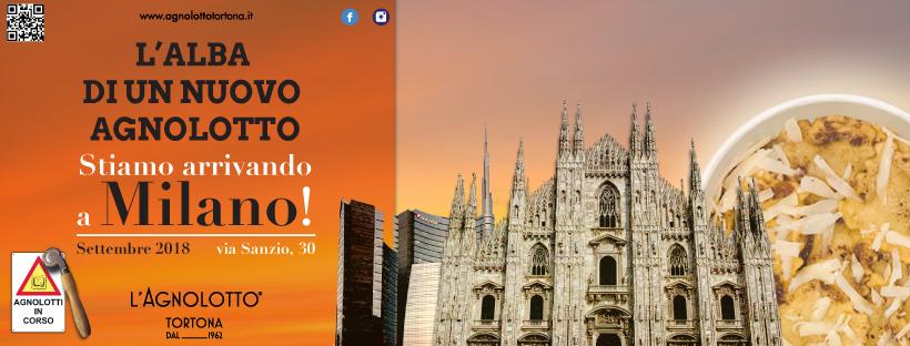 PreApertura Milano - L'Agnolotto Tortona